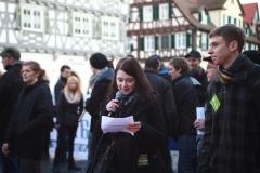 Demo gegen Rechts Schorndorf (25.02)